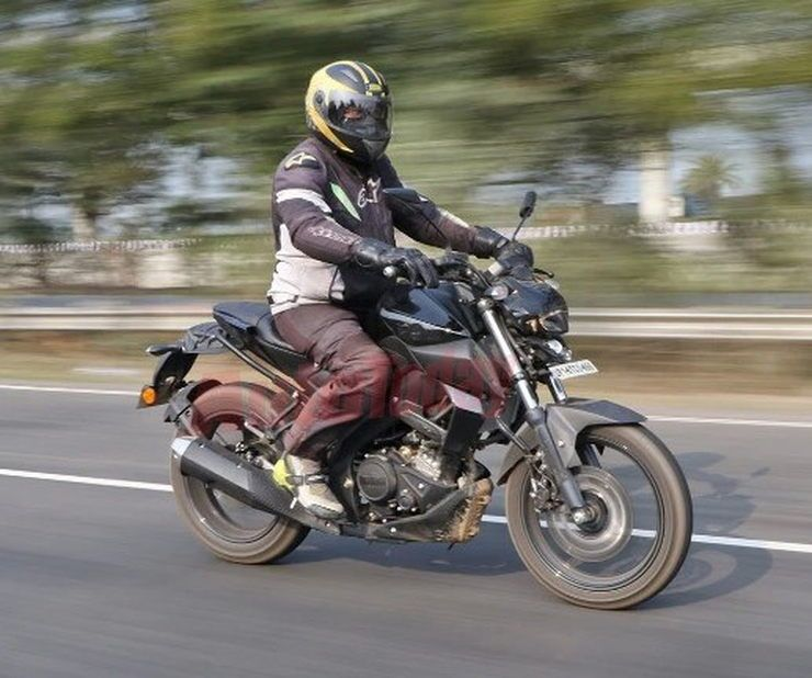 Yamaha R15 based MT-15 spotted testing again: Clear pictures reveal