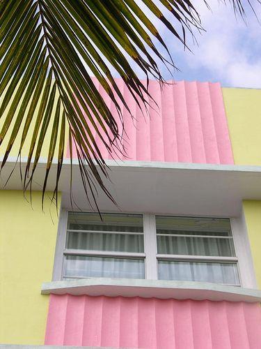 Miami Colors Miami Art Deco Miami Houses