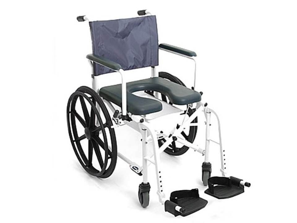 Mariner Rehab Shower Transport Commode Chair - 18\
