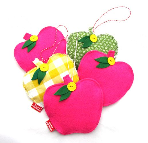 *NEW* kids decoration apples by Something Old Something New