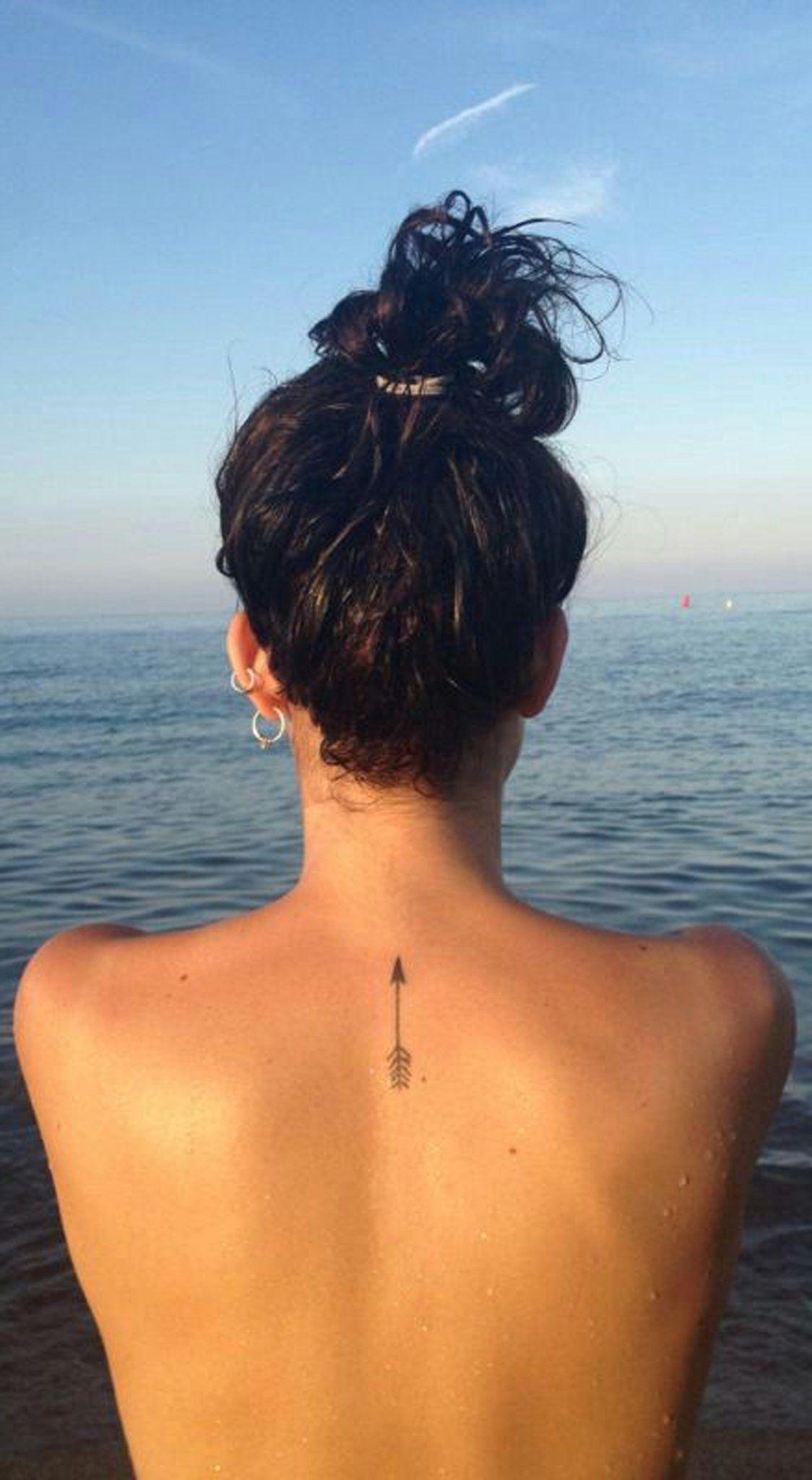 Small Girl Back Tattoo Ideas Girl Simple Mini Flower Tattoo Ideas