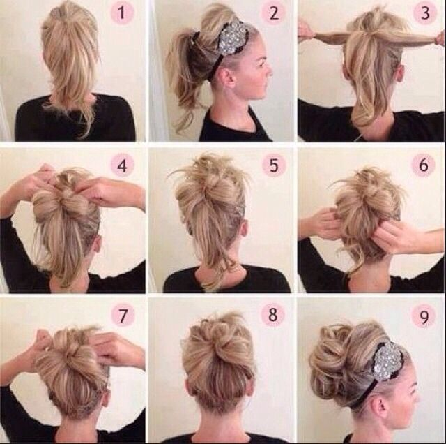 Do It Yourself Updos Simple Prom Hair Thick Hair Styles Diy Hairstyles