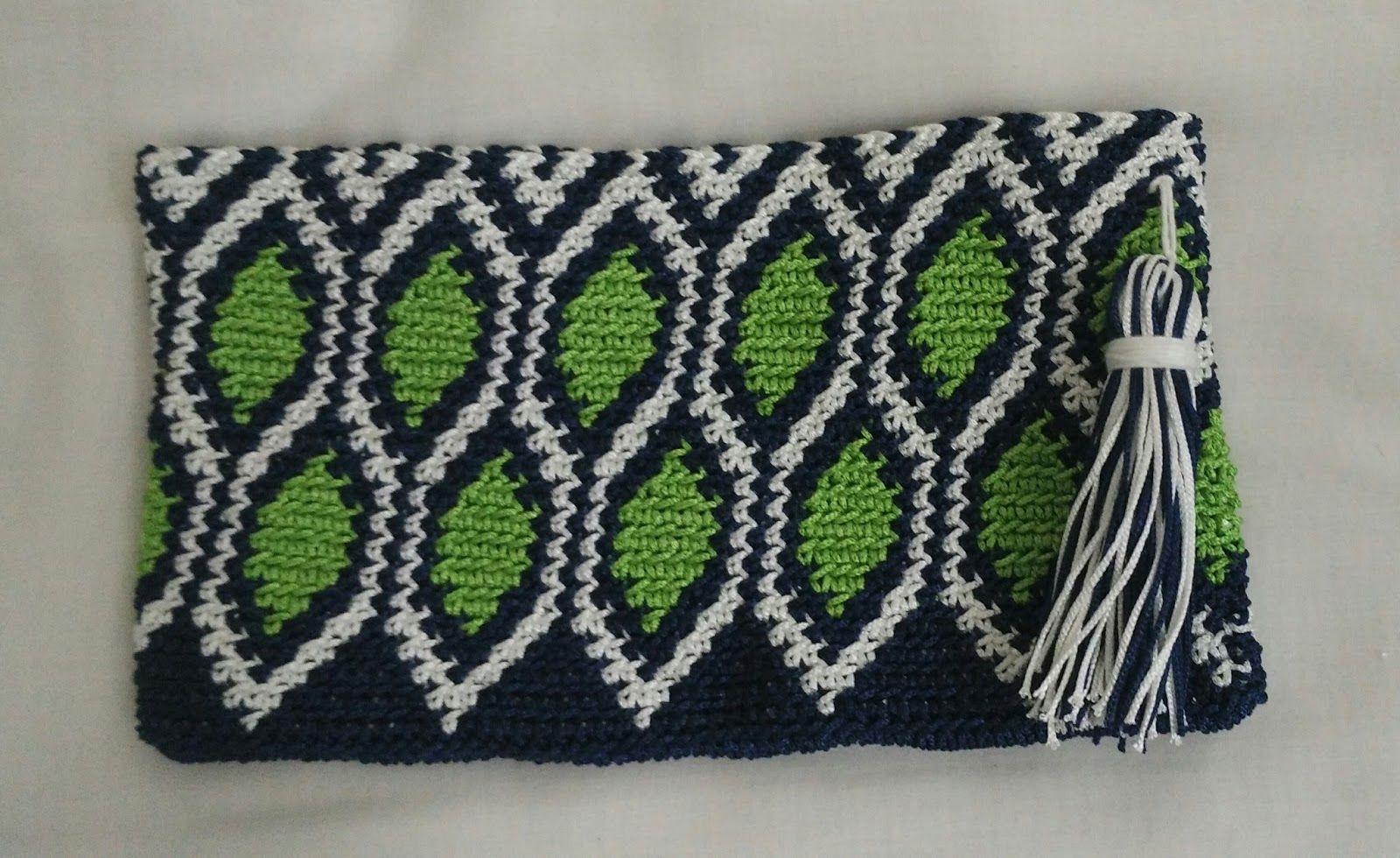 Increíble Hombre Del Modelo Carenado Crochet Adorno - Manta de Tejer ...