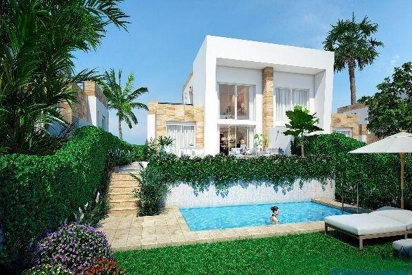 Algorfa Costa Blanca Fantastische Doppelhäuser am La