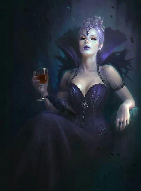 Dunkle Königin | Weibliche charaktere, Vamps, Dunkle königin