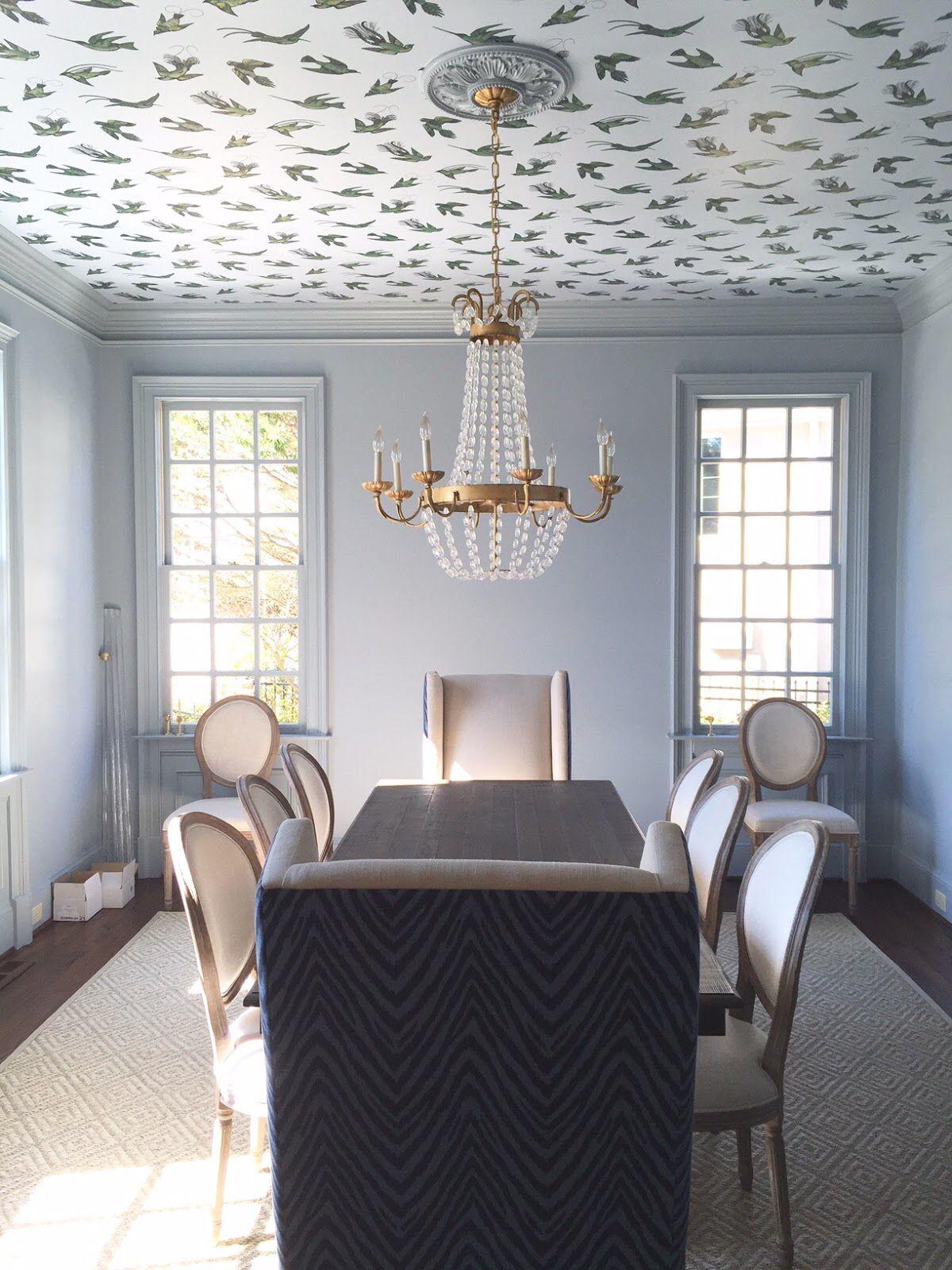 Statement Ceilings - Interior Design Trends of 2019