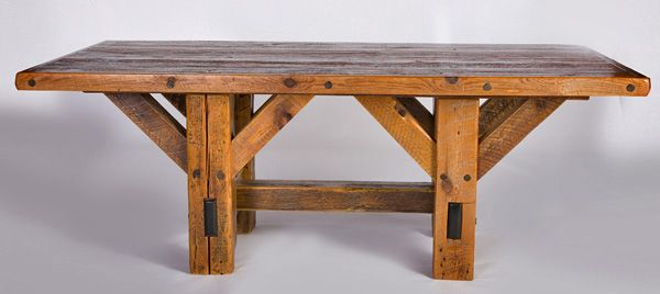 barnwood table i want one thats about 12 ft long forthe dining room - Barnwood Kitchen Table