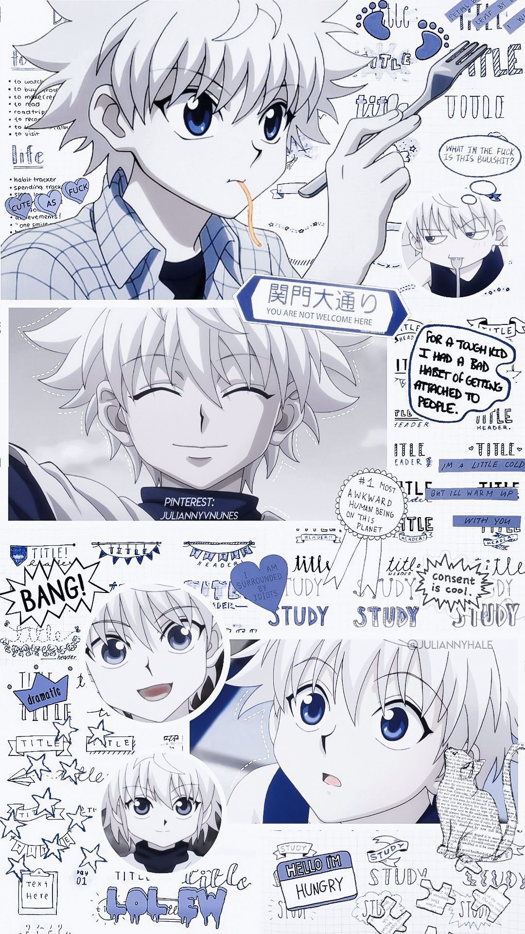 Hunter X Hunter Killua Zoldyck In 2020 Cute Anime Wallpaper Anime Wallpaper Anime Drawings Boy