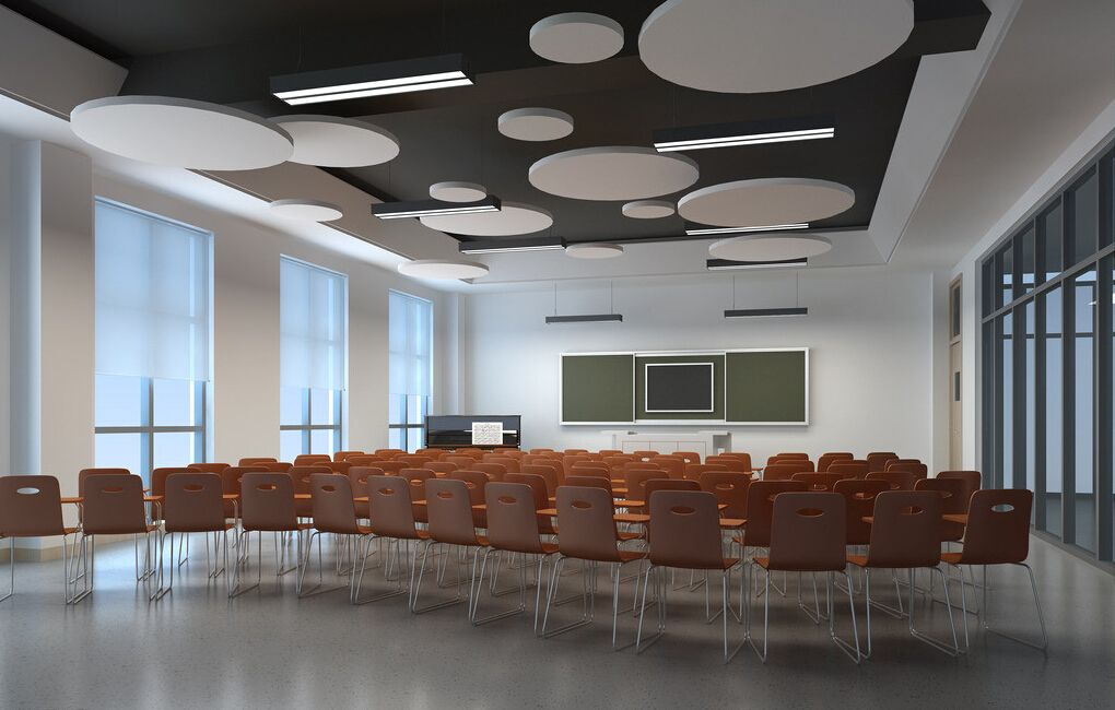 Classroom Ceiling Ideas ~ Classroom suspended ceiling design pinterest