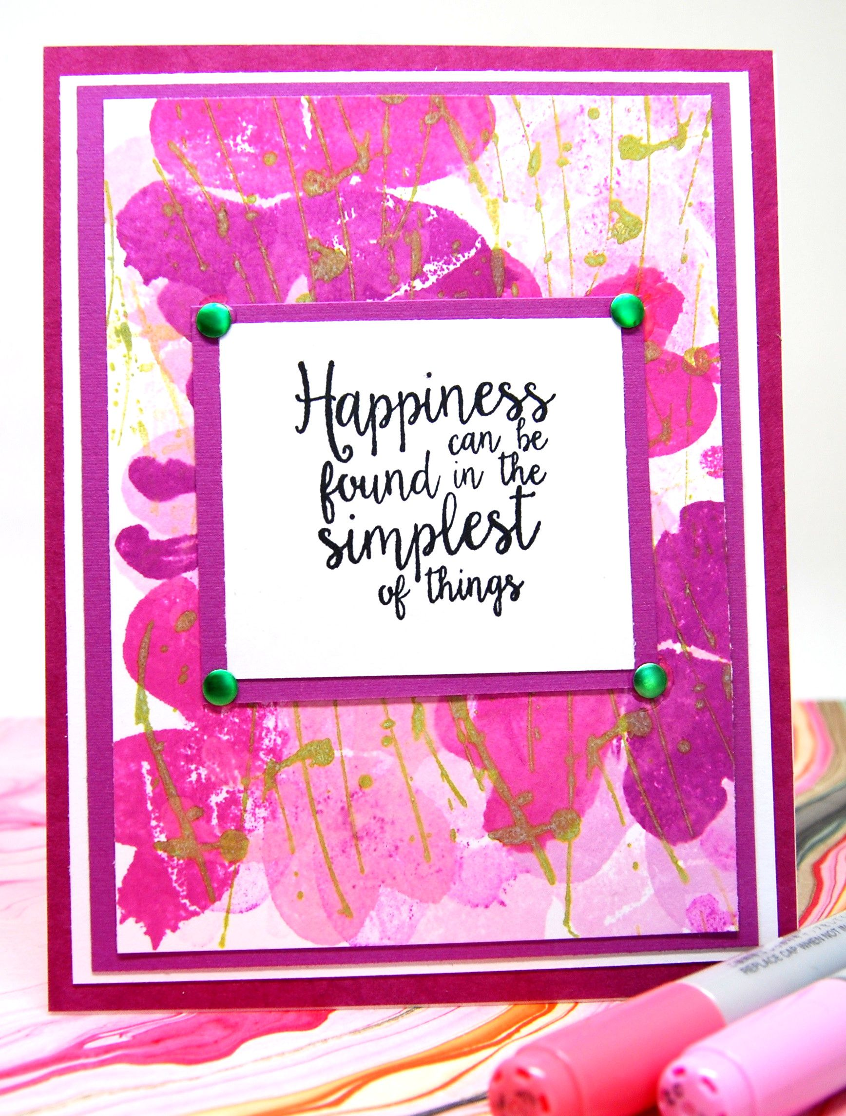 Card Happiness Can Be Found In The Simplist Of Things