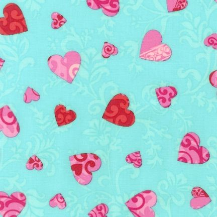 Fabric: AYS-13209-70 by Amy Biggers from Love: Robert Kaufman Fabric Company