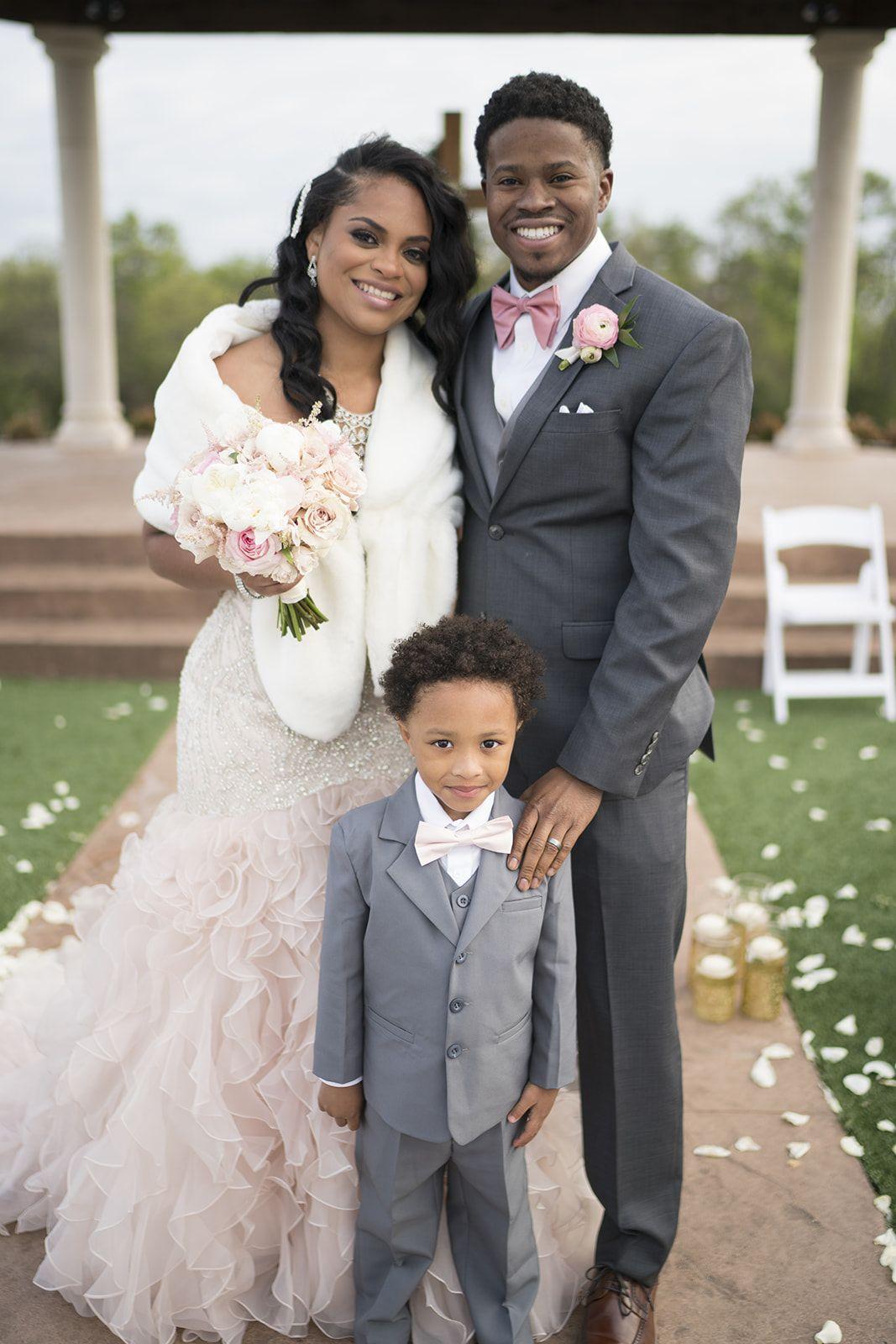 Luxury Wedding Ring Bearer Ring Bearer In A Light Grey Suit