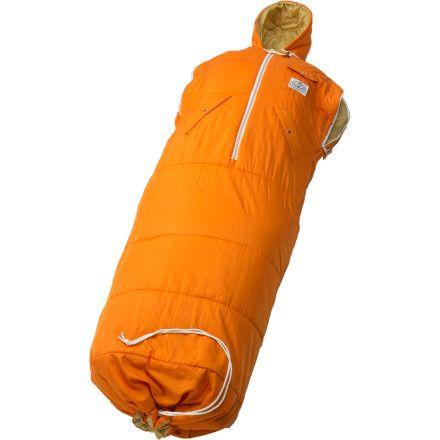 The Ultimate Snuggie Poler Nap Sack Wearable Sleeping Bag Fordad Awesomegift