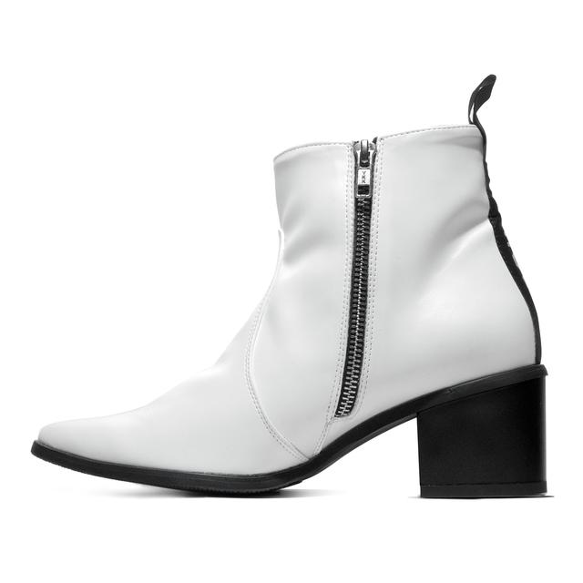 Bohema Klasyczne Weganskie Botki Z Czubkiem Na Obcasie Shoes Boots Ankle Boot