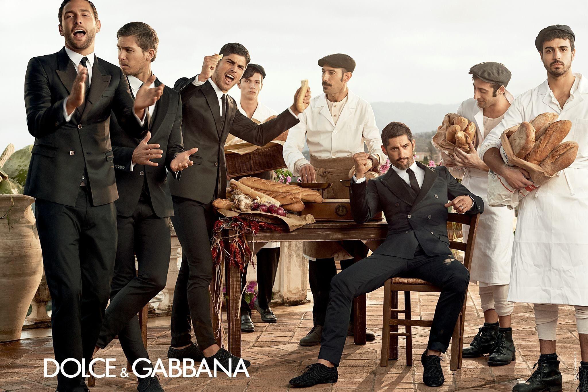 Dolce  Gabbana Primavera/Verano 2014: más italianos que Italia