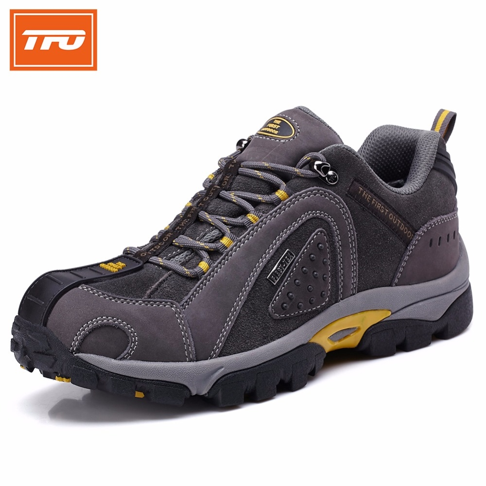 7769 Know more  TFO Brand Men Hiking Shoes Outdoor Sneakers Trekking  Shoes