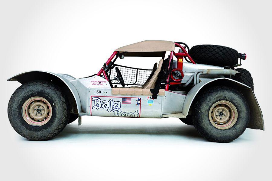 Steve McQueen's Baja Boot buggy.