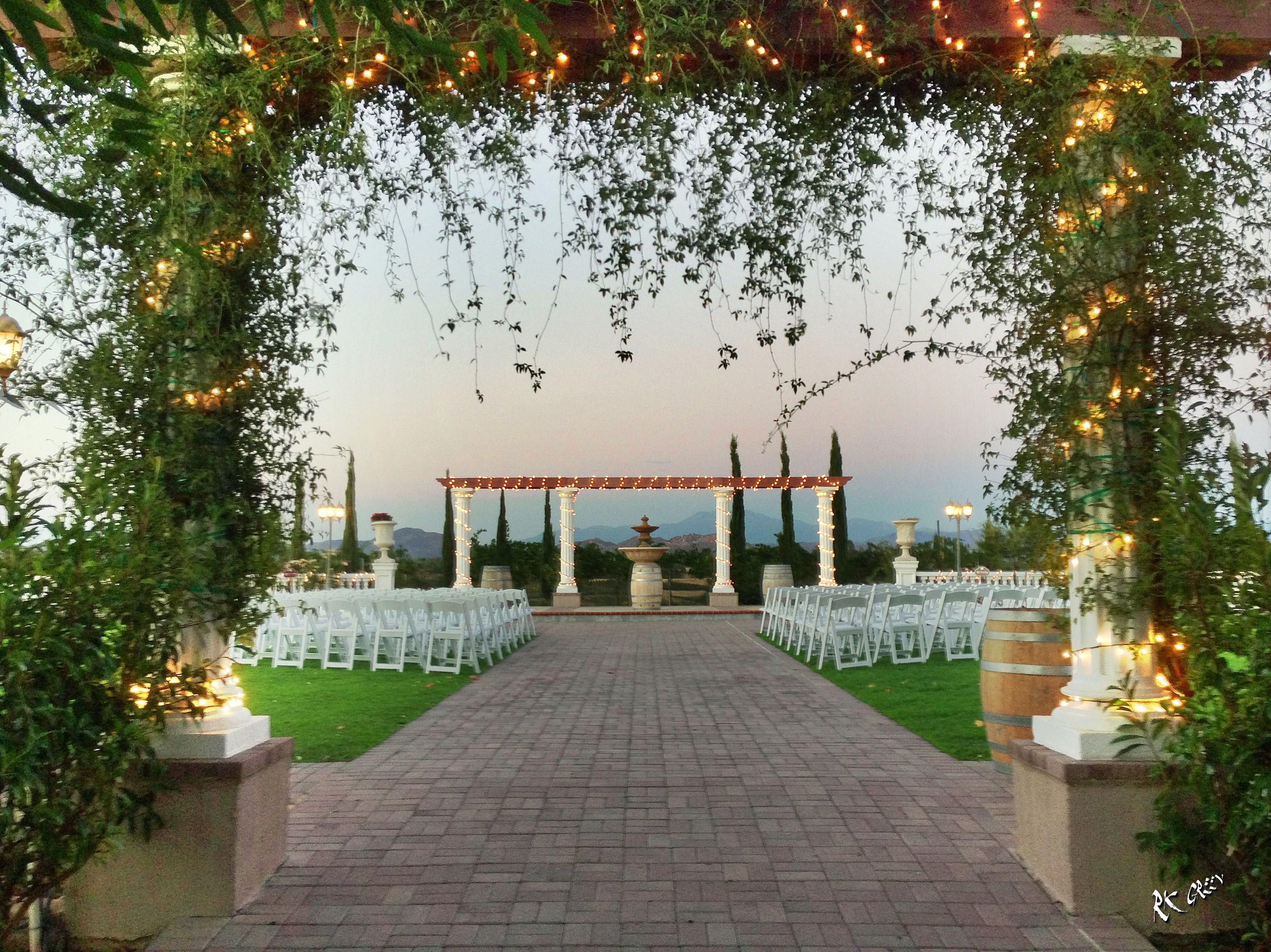 Mount Palomar Winery Wedding Ceremony Venue