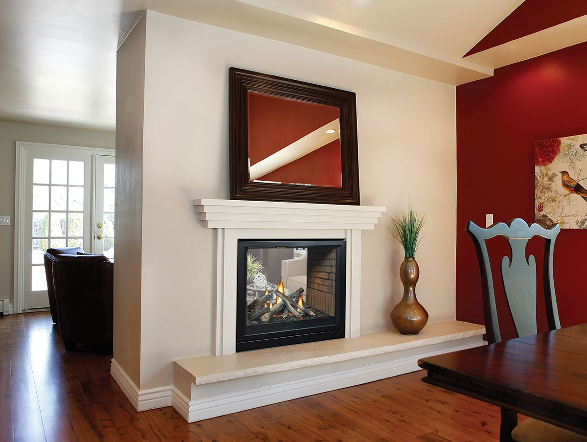 Freestanding Fireplaces Are Not Built In Or Attached To