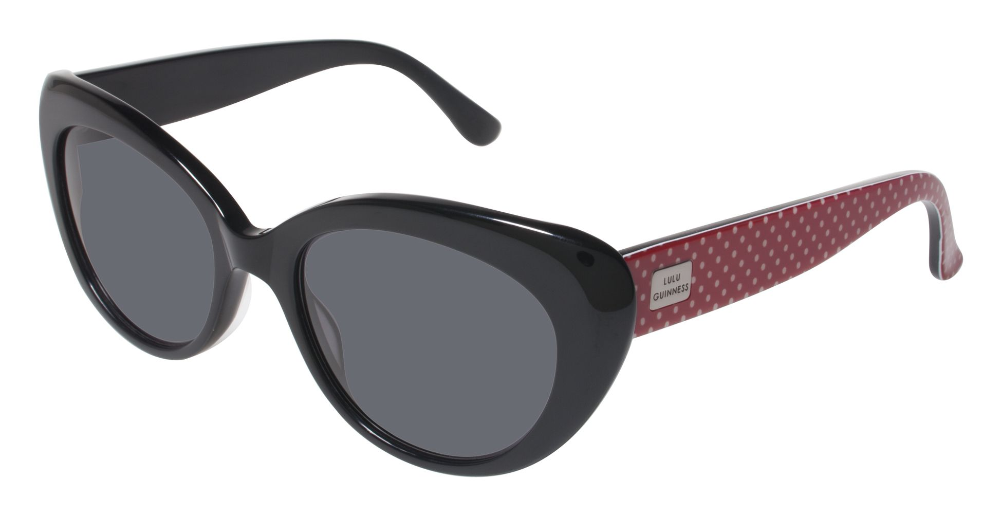 Lulu Guinness Sunwear L103 is a true Vintage Glam piece. The beveled ...