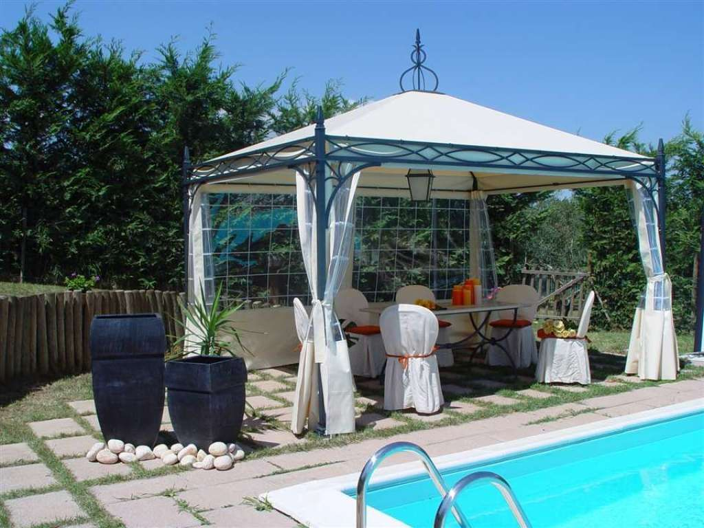 Exterior Wonderful Metal Pergola Kits And Metal Pergola