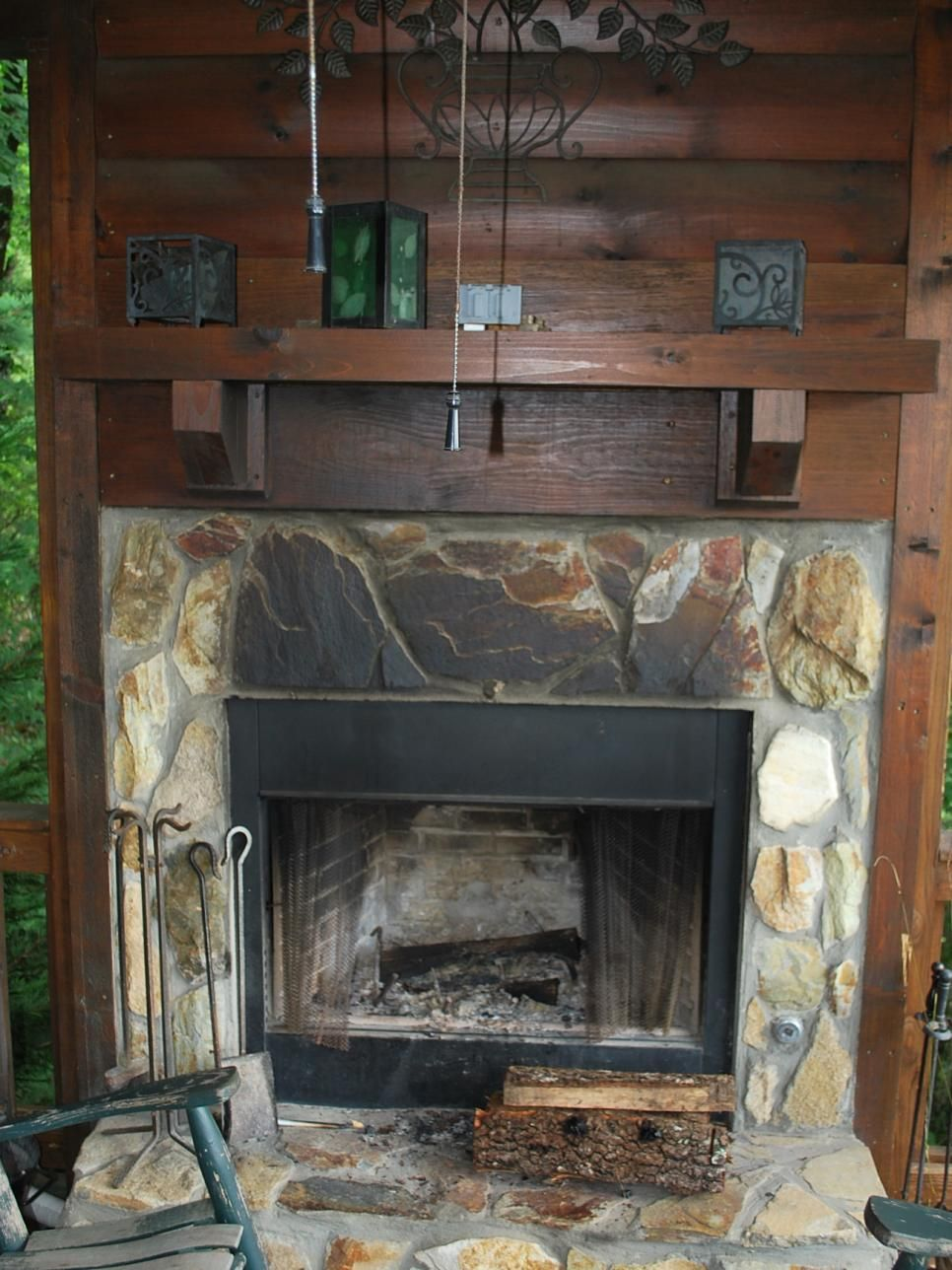 tips for updating an outdoor fireplace remodeling ideas hgtv