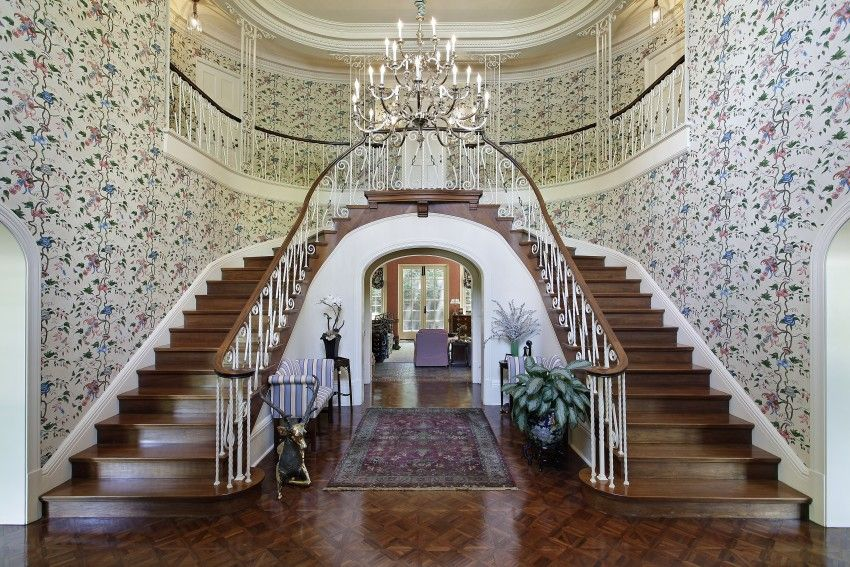 Luxury Foyer Ideas : Amazing luxury foyer design ideas photos with staircases