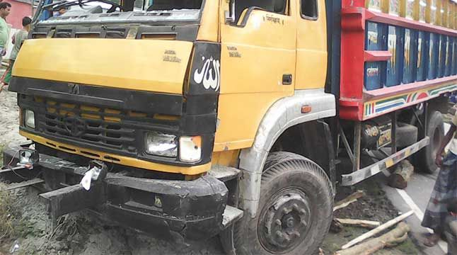 A woman and her son and another man were killed and 6 others were injured in a road accident in Khulna.