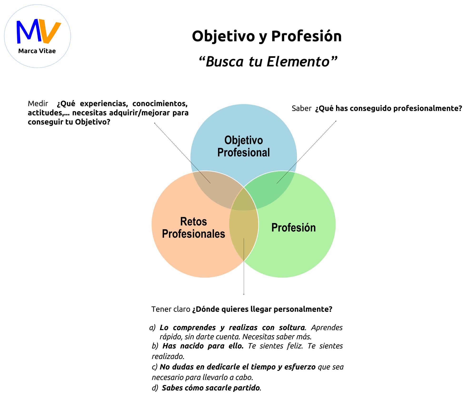 Objetivo y Profesión El camino para alcanzar tu Objetivo Profesional ...