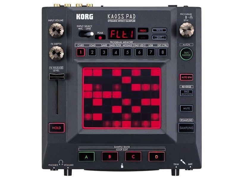 multiefecto korg kaoss pad 3 kp3 + controlador dinamico