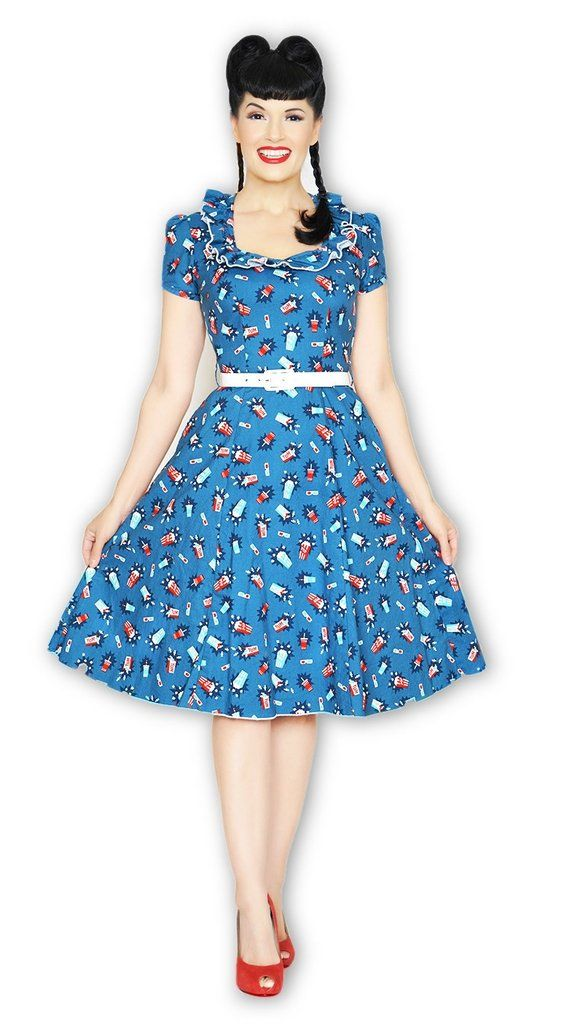 fd16aa5315 Bernie Dexter Ebury Skater Dress in Let Me Entertain You  1950s-pin-up  50s- dresses  50s-pin-up  bernie-dexter  cf-size-3xl  cf-size-4xl  cf-size-l ...