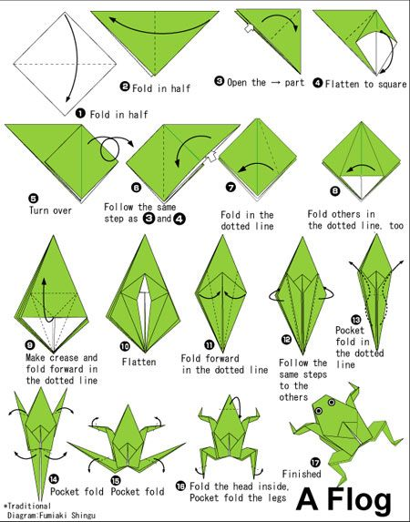 how to make an origami emerald