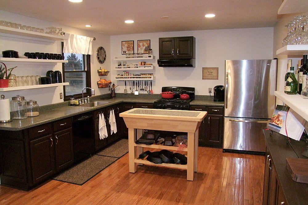 shelves instead of cabinets kitchen remodel new kitchen on kitchen shelves instead of cabinets id=20436