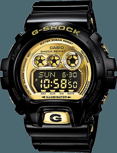 G-Shock GDX6900FM-1 Black Gold Digital  95e9f75cfd