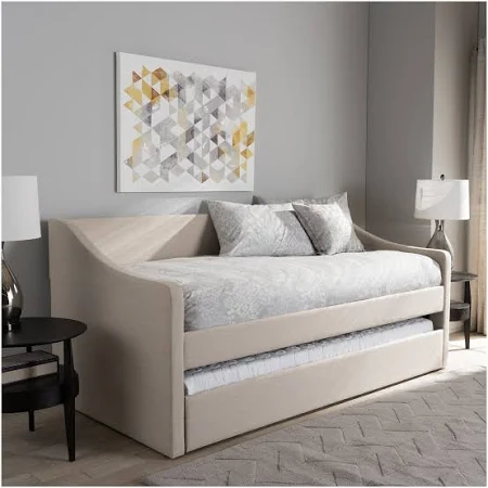 Scandinavian Trundle Bed Google Shopping In 2020 Daybed With