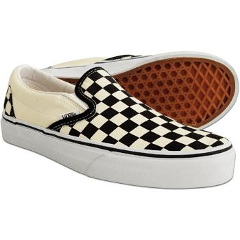 02c3c1b5e8 Vans Checkerboard Classic Slip On Shoes. One of the best pairs of shoes  I ve ever owned.