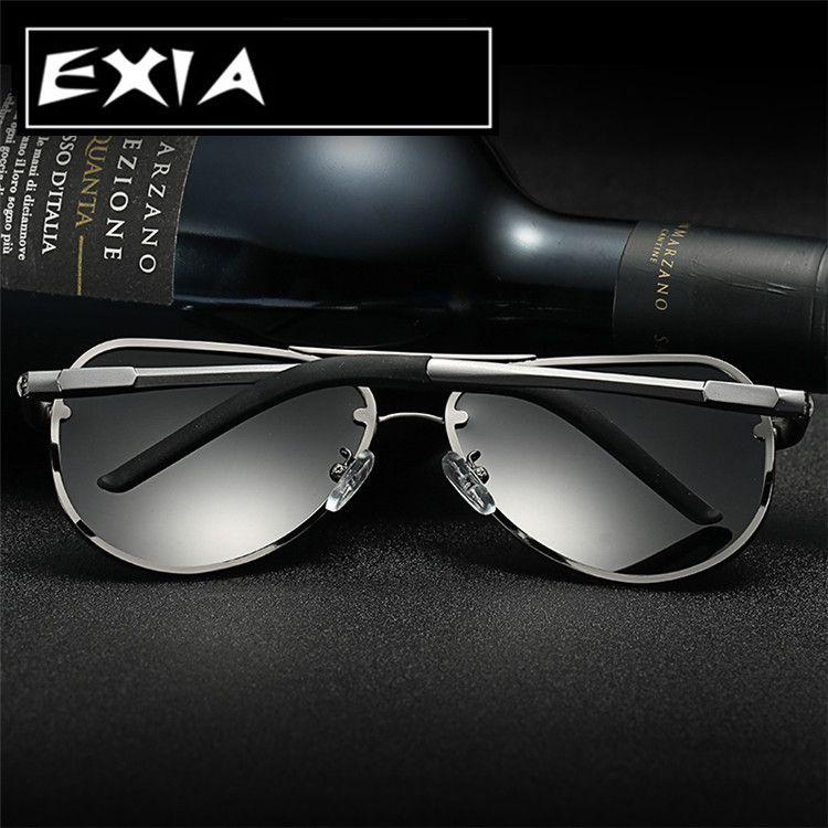 633b2c0c56c Pilot Sunglasses Polarized Lenses for MEN Top Quality Aluminium Magnesium  Frame Alloy EXIA OPTICAL Series mens fashion casual    This is an  AliExpress ...
