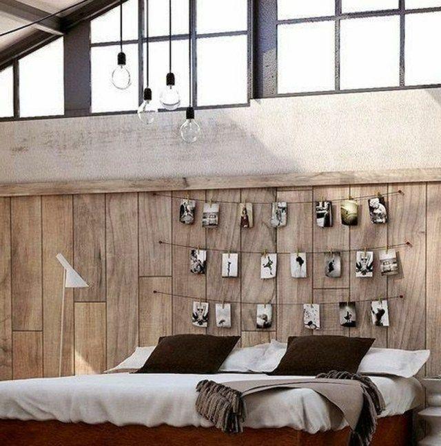 lovely schlafzimmer deko diy #1: Schlafzimmer dekorieren mit Schwarz-Weiß-Fotos