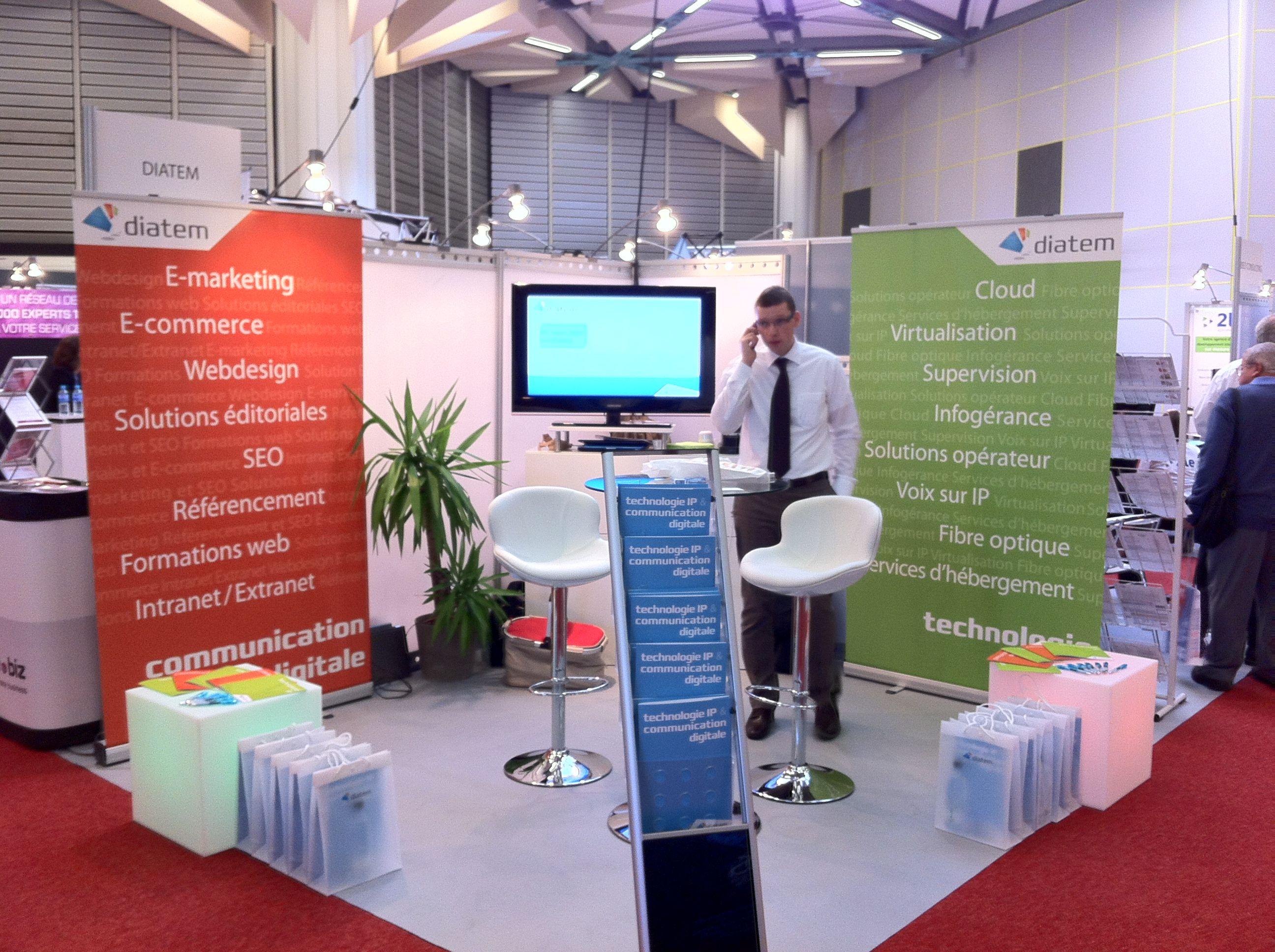Salon Alsace IT Days - Les rendez-vous du numérique - Strasbourg - oct. 2012