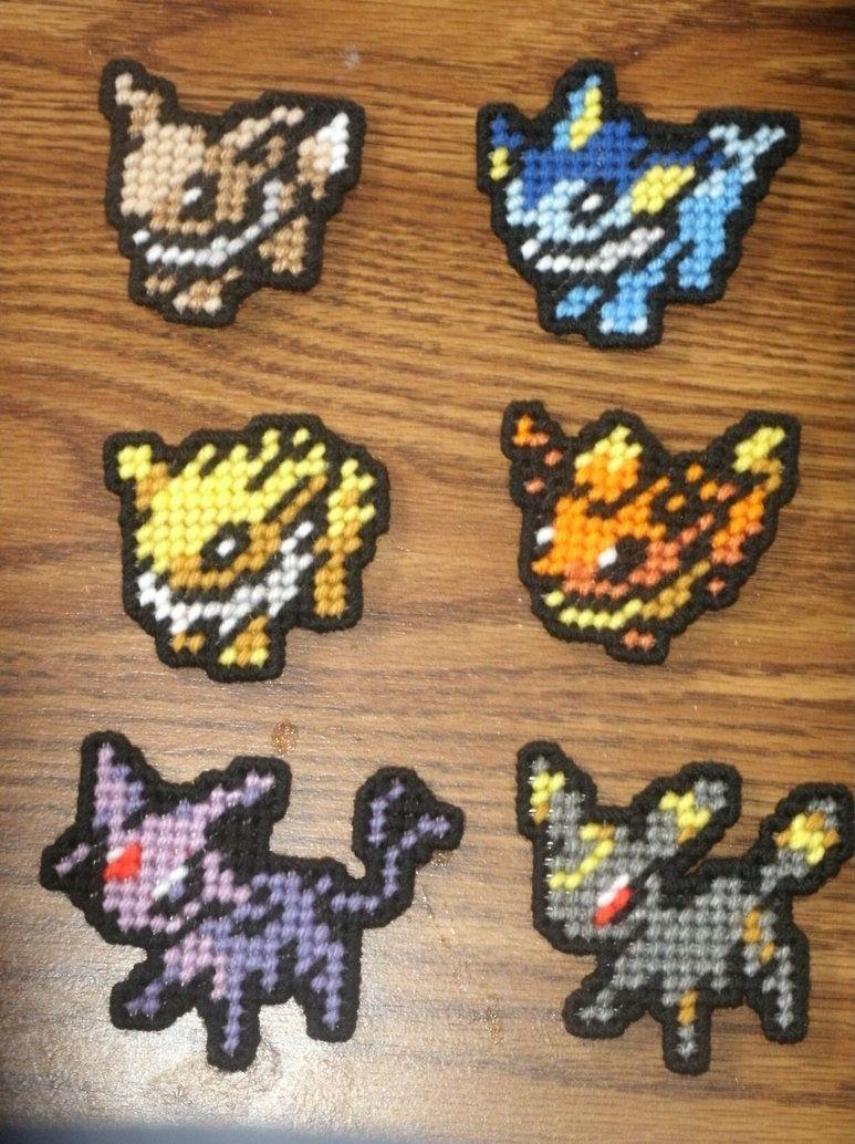 Pokemon Sprites - Eevee and Evolutions by UWorlds on DeviantArt ...