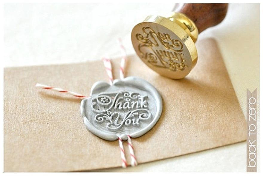 thank you wax seal great for personal