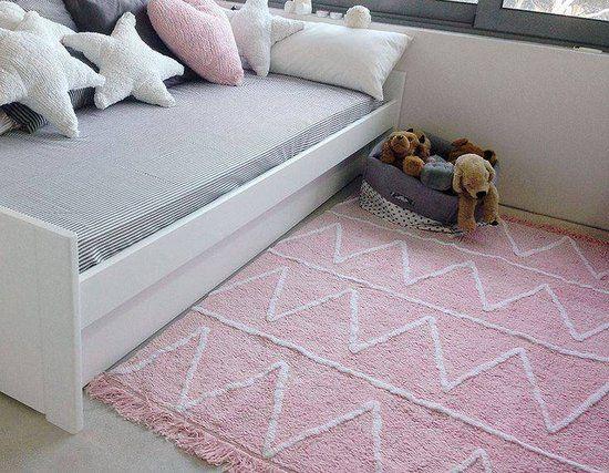 Vloerkleed Kinderkamer Roze : Vloerkleed kinderkamer hippy roze cm in ons huis