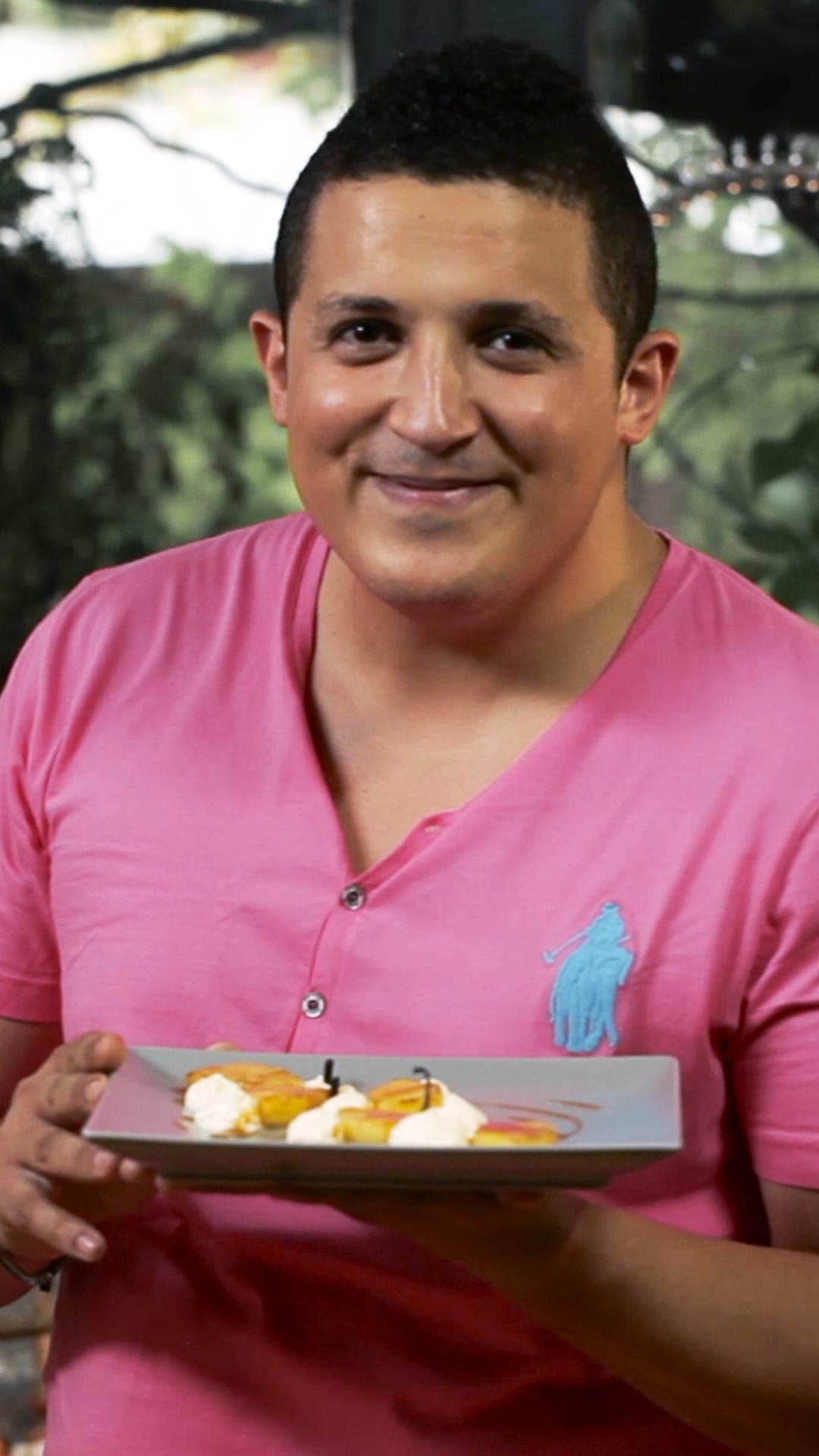 Ananas flambé #chefclubrecettevideos