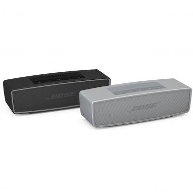 Bose SoundLink Mini speaker II pearl  SHOP ONLINE: http://www.purelifestyle.be/shop/view/sports-fashion/bose-luidsprekers/bose-soundlink-mini-ii-bluetooth-speaker-pearl