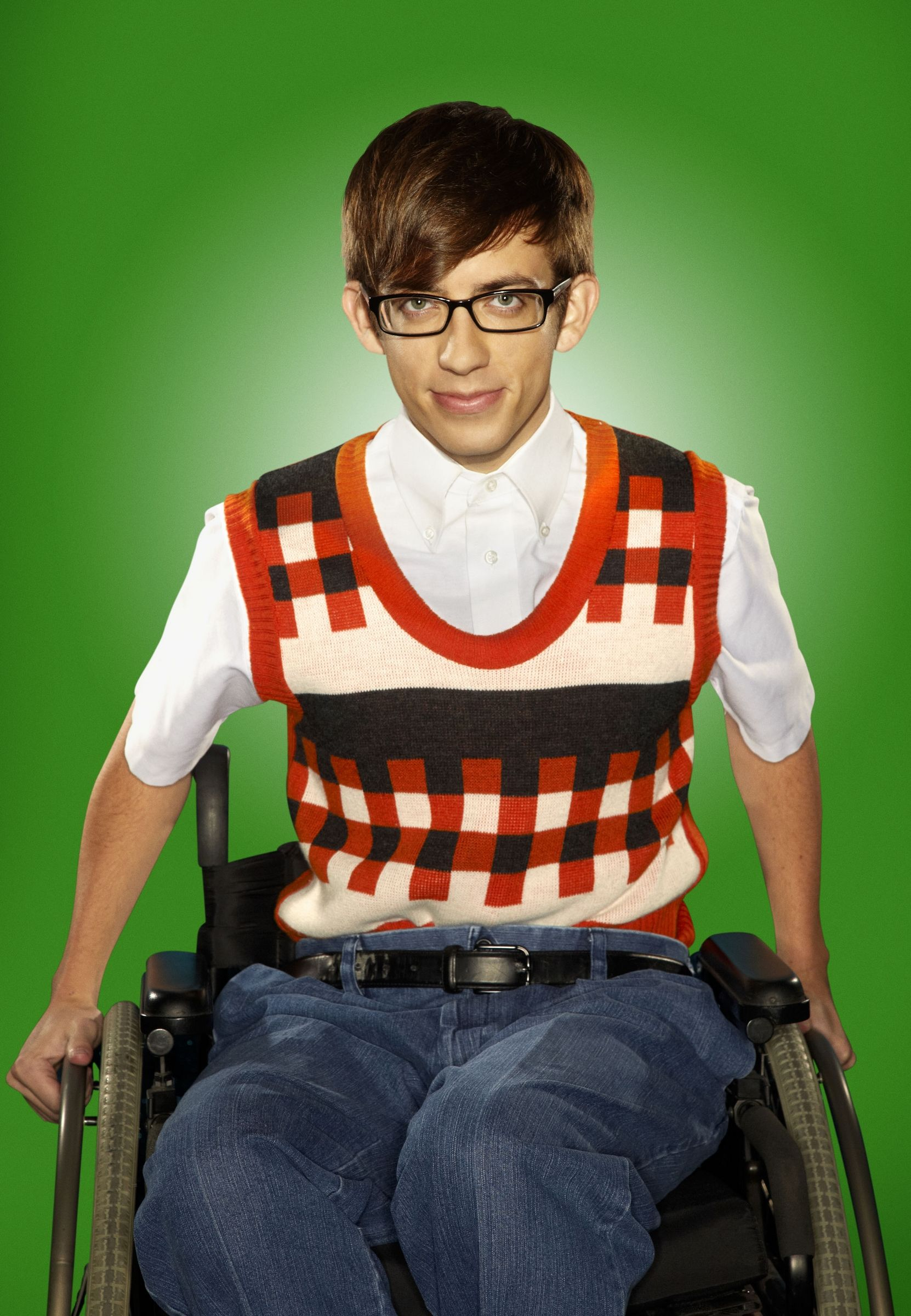 Wheelchair Glee How To Make A Giant Bean Bag Chair Kevin Mchale As Artie Abrams In Season 2