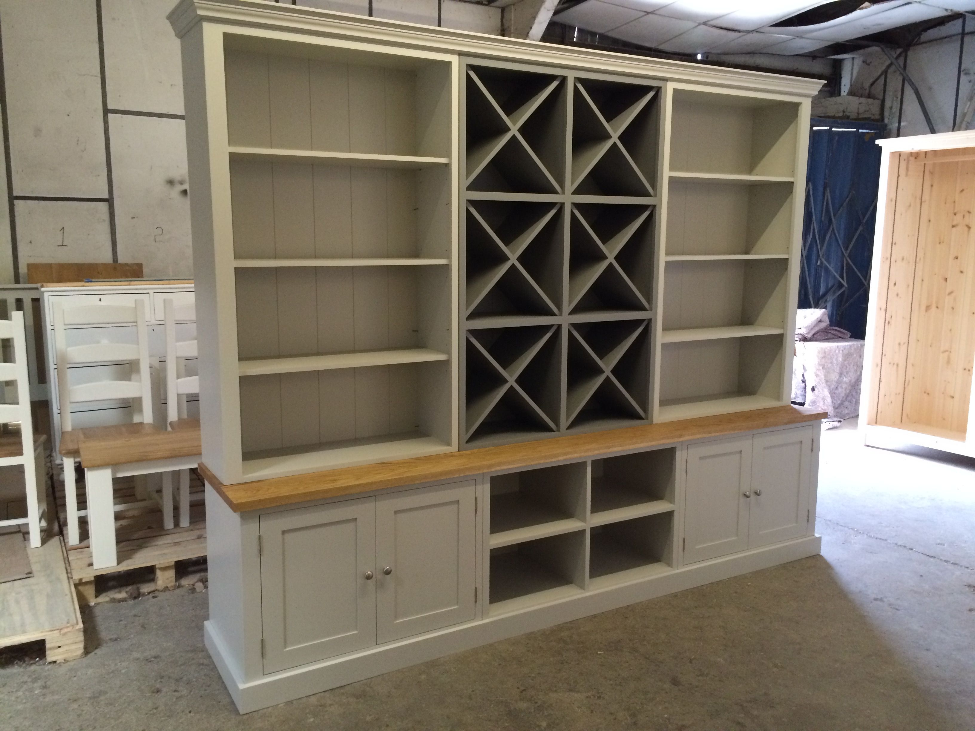 Bespoke dresser painted in your choice of colour cocina