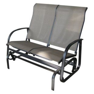 Avalon Double Patio Glider  Mahogany