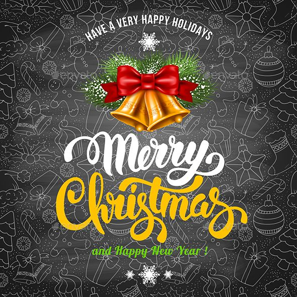 Merry Christmas Greeting Vector illustration EPS #xmas #background #merrychrisrmas