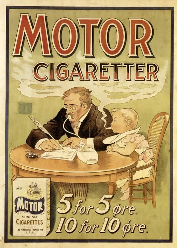 60 Ridiculous Vintage Smoking Ads | Clopes | Vintage