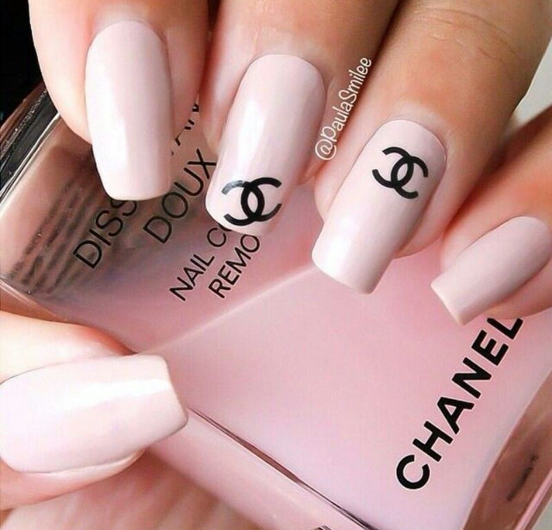 chanel nail polish is lush makeup pinterest so cute